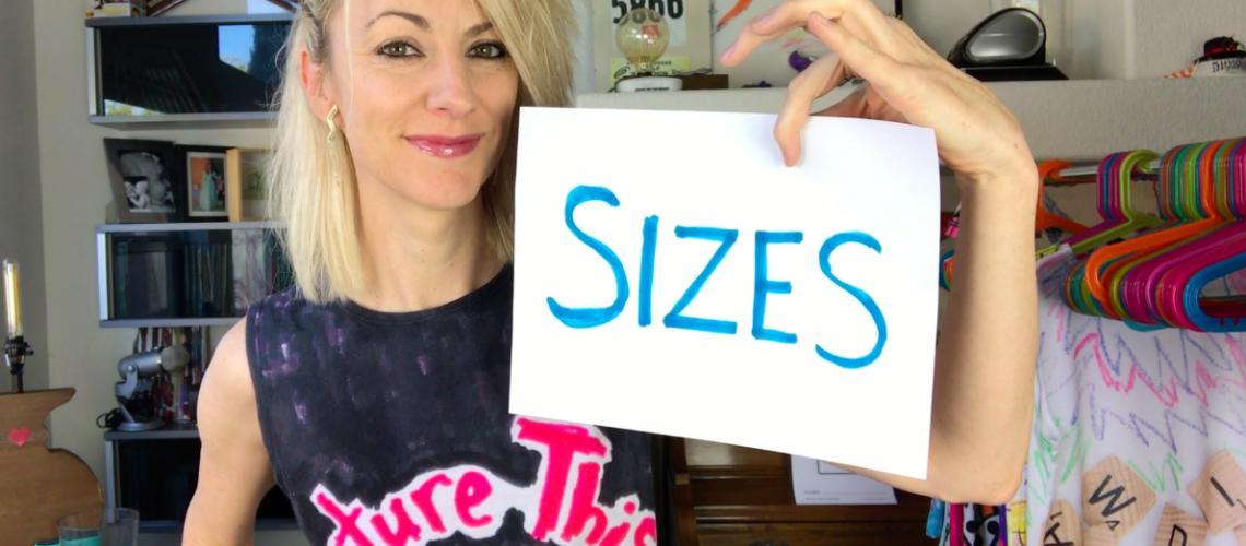 Sizes!